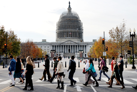 Disability advocates are calling on Congress to vote on the ABLE Act before adjourning for the year. (Olivier Douliery/Abaca Press/TNS)
